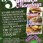 Tampa Monday Food, Drink & Entertainment Specials