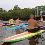 Ultimate Workout: Yoga and Stand Up Paddle Boarding